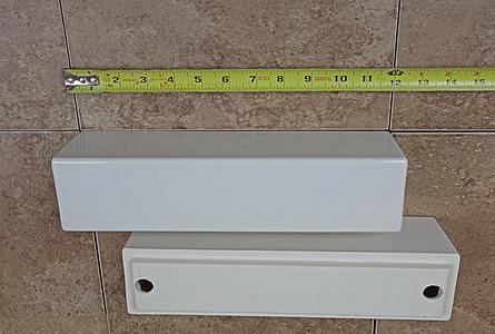 Lovely Modern Shower Ceramic Shelf 12inch