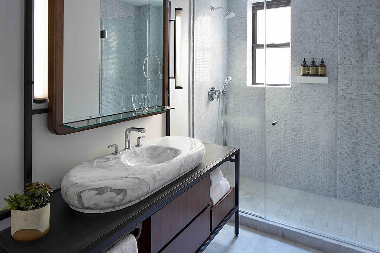 design your shelving including in shelves shower ideas has for built this with showers