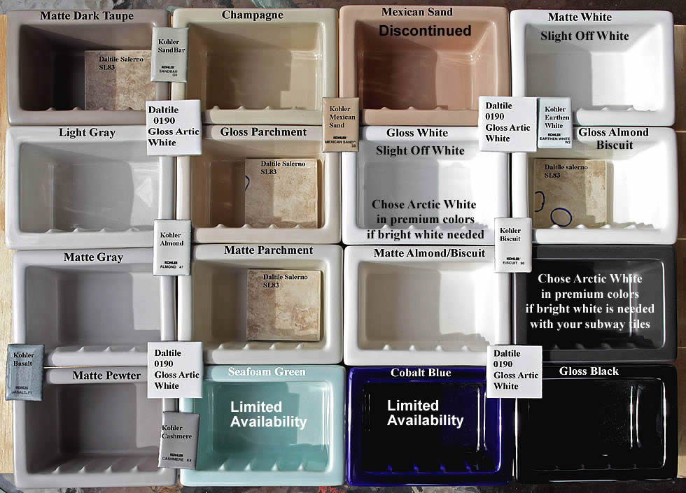 shower shelf shampoo niche recessed showering shelves niches. Black Bedroom Furniture Sets. Home Design Ideas