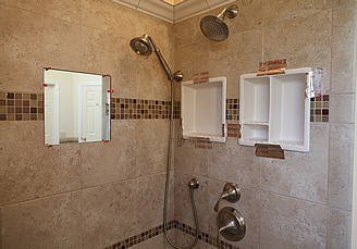 Build Shower Tile Niche