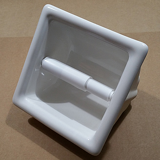 ceramic toilet paper holder