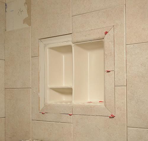 flush shower niche. Shower Shelf Shampoo Niche Recessed Showering Shelves Niches