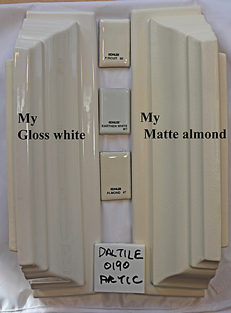 glosswhite matte almond crowns