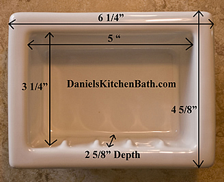 Recessed Soap Dish1 ...