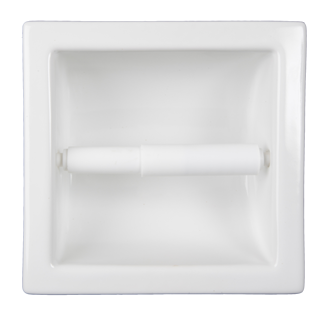 how to install ceramic toilet paper holder on cabinet